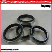 many types custom molded rubber wiper seals