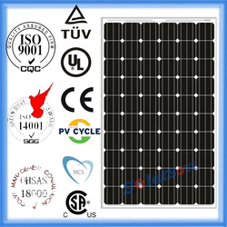 245w mono crystal solar panels for sale with TUV UL CE to brazil