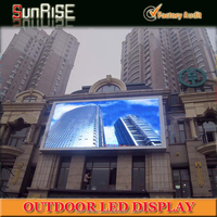 Outdoor digital comercial P8,p10,p16 LED screen, led video wall