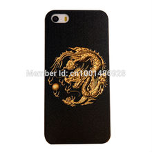 Mobile Phone Cases Mobile Shell 3D stereoscopic relief process applies to iphone5 / 5s dragon totem