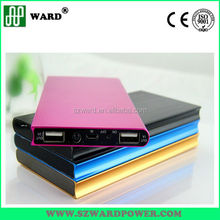10000mAh Polymer battery Colourful Portable Mobile Power Bank Strong Compatibility
