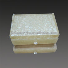 customized wholesale acrylic hotel amenity tray