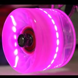 2015 New Design wholesale custom led wheel longboard