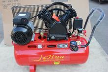 V compresor de aire de tipo cabeza 50L 2HP 51mm * 2 pistón accionado por correa del compresor de aire