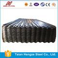 Sgcc tôle d'acier galvanisé ondulé pour Container