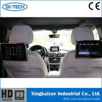 1280x720 Custom 9 inch Android OEM bluetooth headrest car monitor for Renault duster