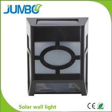 Low price new arrival wall mounted solar power light outdoor