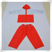 Children PVC rain suit