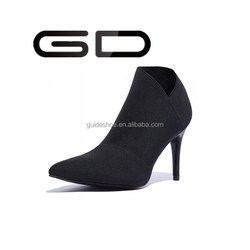 lady short boots wholesale Ankle Boots Women Pointed Toe Booties