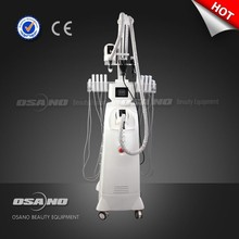 5 in 1 beauty equipment / Auto-roller Vacuum RF laser cavitation machine, vacuum roller machine, body fat sucking machine