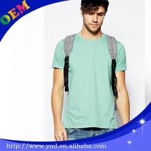 Fashion green color dri fit soft cotton t shirts wholesale