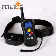 Dog training collar-bark control remote dog bark control