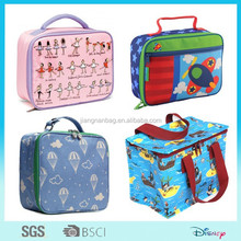 cute stylish cartoon printing thermal insulated lunch bag for kids