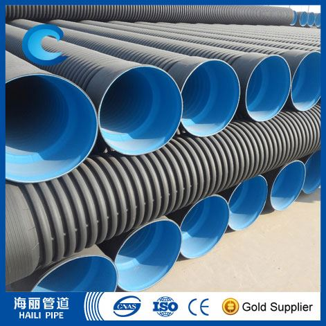 Hdpe Double Wall Corrugated Drainage Pipe In China Buy