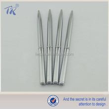 Slim Metal Ballpoint Pen Promotional Pen Logo for Gift