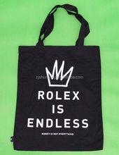 promotional natural color cotton bag/ promotional cotton bag recycle/ custom plain drawstring pouch bag