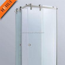 automatic glass sliding door,modern aluminium sliding glass frameless doors handrail,sliding glass door runners HH527