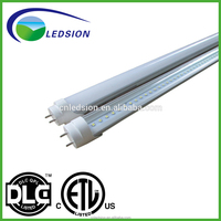 Ledsion 18w LED T8 Tube factory lighting for home with Aluminum alloy + milky/clear/frosted cover