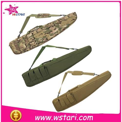 su geçirmez kamuflaj tüfek tabanca çantası avcılık için