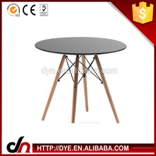 Brand design MDF wooden base table,birch eames table base,wood&metal table base