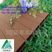 outside anti-UV wood plastic composite wall panel/wpc wall cladding panel