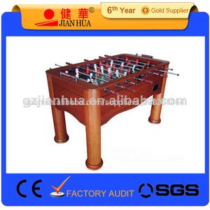 barato de madera maciza mesa de fútbol precio