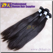 Tangle and shedding free hot sale unprocessed hair long virgin hair double drawn straight hair
