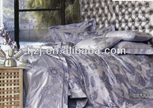blue gray Quilt Cover Set by Cotton House