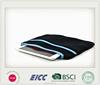 Soft black sleeve bag for iPad Air Neoprene screen protector