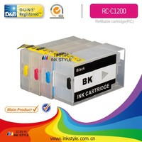 PGI1200 refillable ink cartridge for Canon use for MAXIFY MB2020/MB2320 with auto reset chip