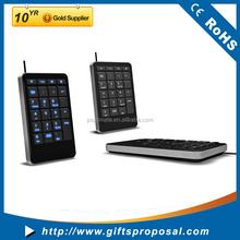 Portable Keyboard LED Lighting Computer Keyboard Slim Keyboard for Laptop Mobile Phone