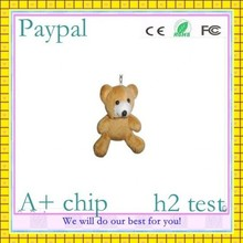 cute for gift hot selling bear usb flash drive