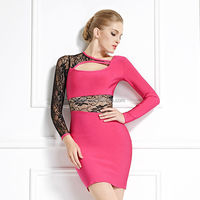 ladies winter long sleeve night sexy one piece dresses latest