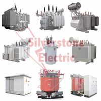 110kv Oil Immersed Voltage Power Transformer High Capacity
