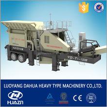 mobile crushing plant quarry stone cutting machine