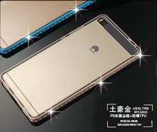 High Quality Aluminum Metal Bumper huawei p8 case For latest Designs and Devices