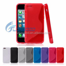 Cheapest TPU Silicone Soft Rubber Case for iPhone 5C