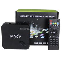 2015 Newest Factory Price Amlogic S805 MXQ MXV Quad Core Android 4.4 TV Box KODI Smart TV Box