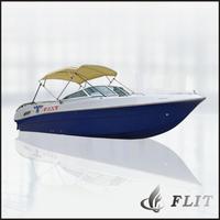 2014 Hot Sale Small Fiberglass Luxury Yacht with Price