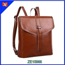 Leather Satchel Backpack Women Fashion Back Bag Student Stylish Bag Backpack School