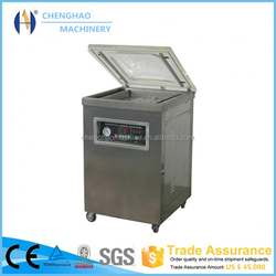 Hot Sale beef/snacks/food/meat/fish single-chamber vacuum packaging machine CE Approved