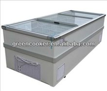 supermarket freezer display cases/supermarket showcase OEM factory 2012