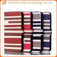Wholesale for iPhone 6 flip Leather Cover, for iPhone 6 flip Leather Skin Cover Wallet Case
