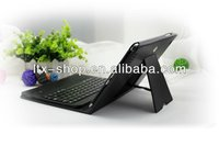 New Removable 7inch Bluetooth Keyboard With Leather Case For Samsung