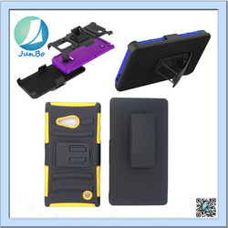 3 In 1 Belt clip fancy case cover for nokia lumia 735