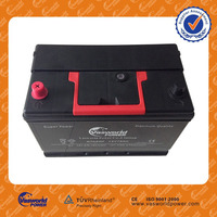 hyundai car battery manufacturers in usa for 12v 60ah jis standard maintenance free battery