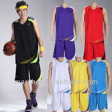 Bsketball jersey wholesale high quality material basketball uniforms with underpants