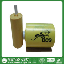 Dispenser Box Packing Plastic Pet Waste Bags on roll