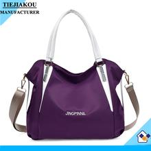 custom women handbag nylon bag lady handbag china wholesale waterproof bag shoulder bag
