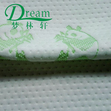 China supplier yarn dot two panda home textile mattress health care bamboo cloth wholesale online
